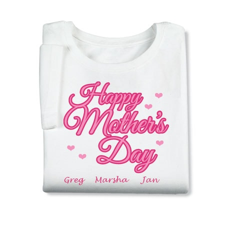 Personalized Happy Mother's Day Shirt