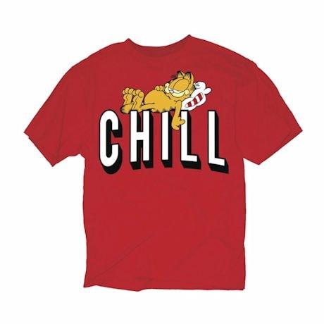 Garfield And Chill Shirts