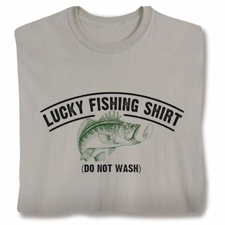 Lucky Fishing Shirts