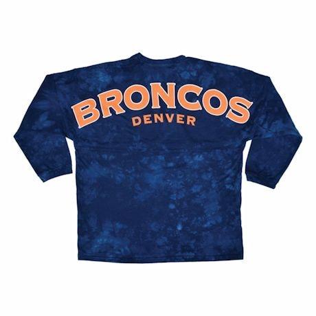 NFL Jersey Long-Sleeve Tees- Denver Broncos
