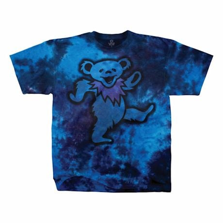 Grateful Dead Dancing Blue Bear Tee