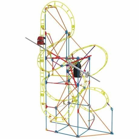K'NEX - Kinetic Amusement Park Building Kits- Clock Work Coaster