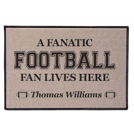 Fanatic Fan Personalized Doormat