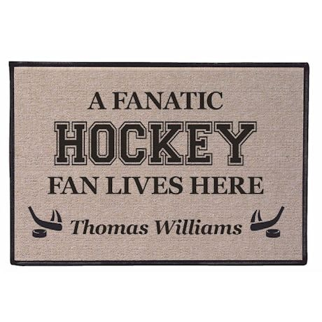 Fanatic Fan Personalized Doormat