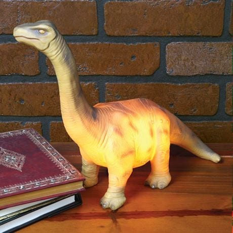 Brontosaurus Dinosaur Accent Table Lamp