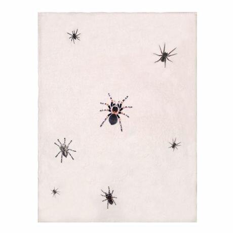 Creepy Crawly Spider Throw