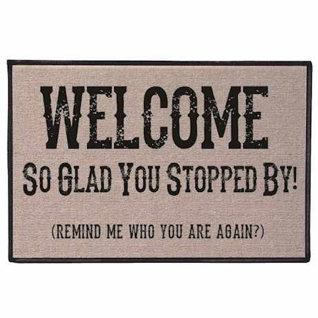 Who Are You? Doormat