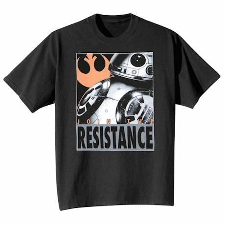 Star Wars Join The Resistance T-Shirt