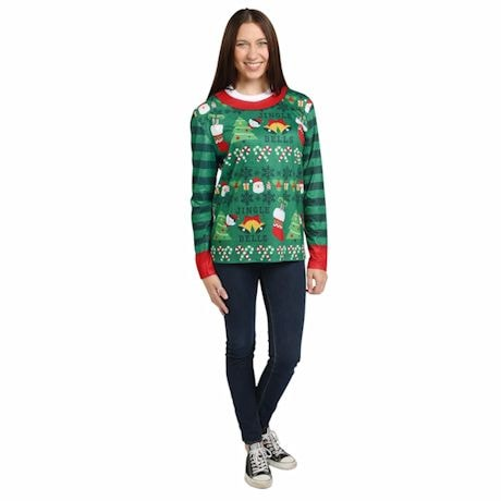 Ugly Sweater Vest/Long Sleeve T-Shirt