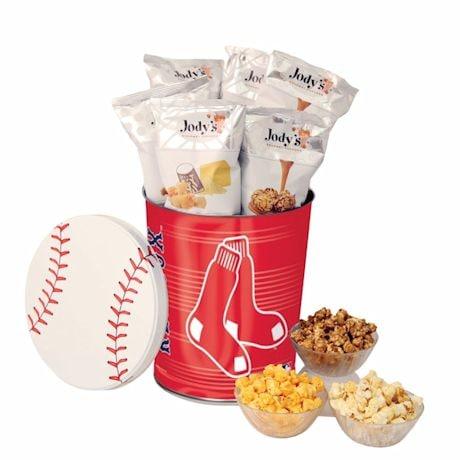 Major Leage Baseball Popcorn Tins