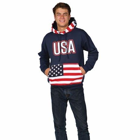 International Flag Hoodies - USA