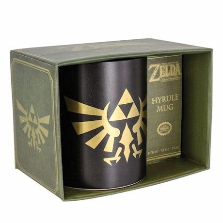 Nintendo The Legend Of Zelda Link Hyrule Symbol Mug