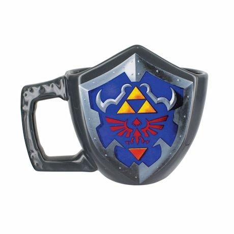 Nintendo The Legend of Zelda Link's Shield Shaped Mug