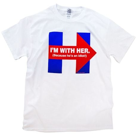 I'm With Her Tee
