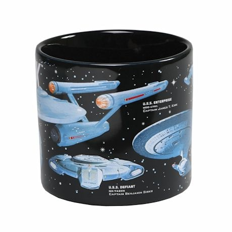 Star Trek Starships Mug