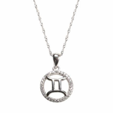 Gemini Horoscope Necklace