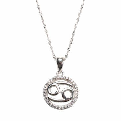 Cancer Horoscope Necklace
