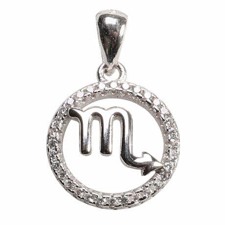Scorpio Horoscope Necklace