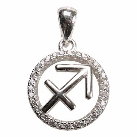 Sagittarius Horoscope Necklace