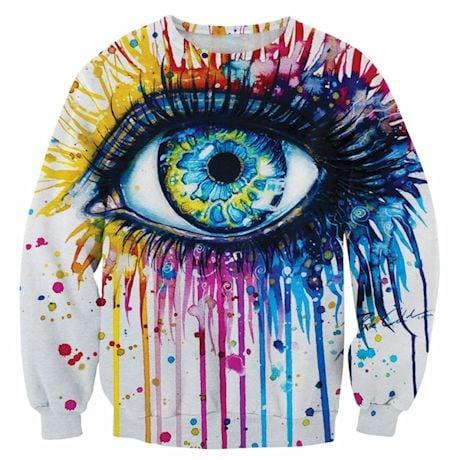 Colorful Eye Sweatshirt