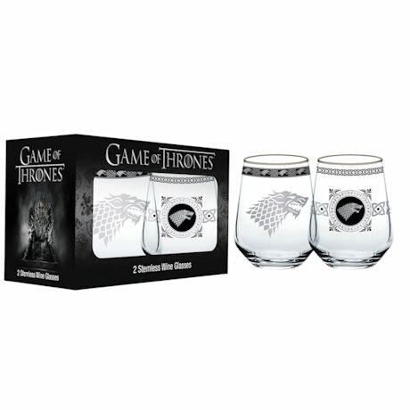 Game Of Thrones™ Glassware- Stemless Wineglasses
