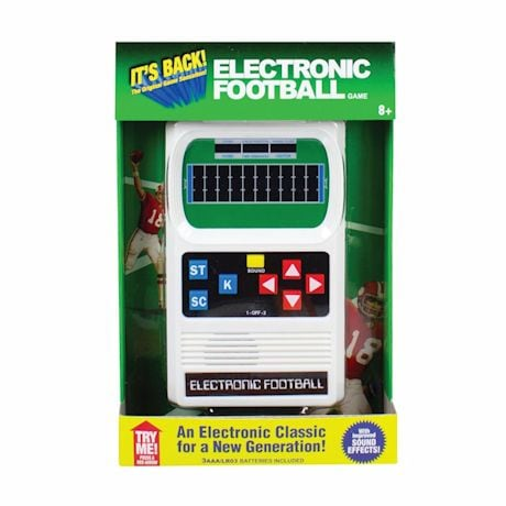 Electronic Hand-Held Sports Games- Football