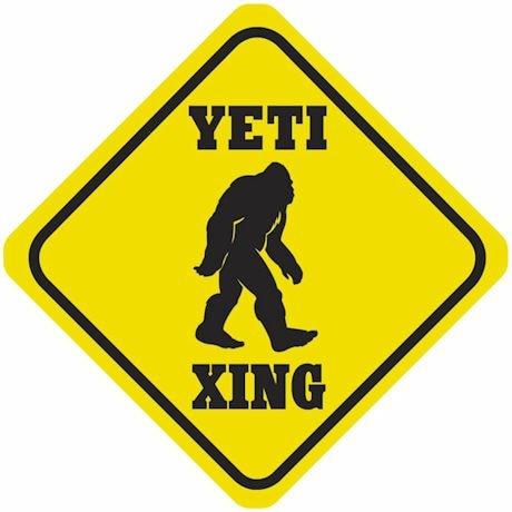 Crossing Signs - Yeti