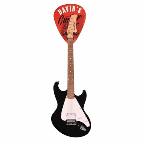 Personalized Guitar Pick Wall Hook
