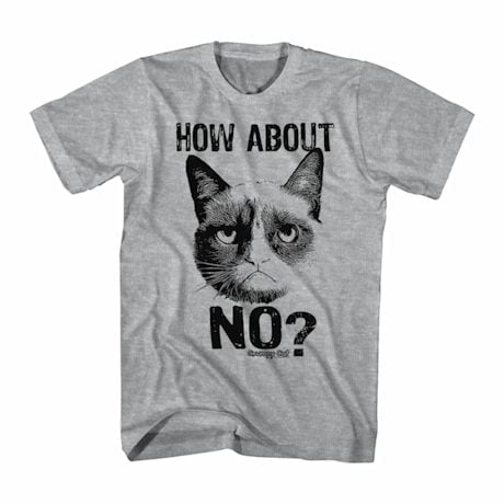Grumpy Cat T-Shirt- No?