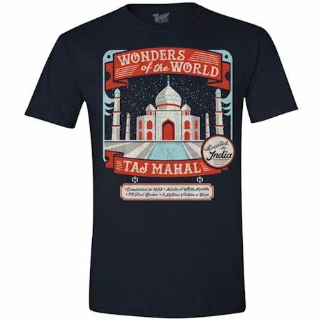 Wonders Of The World T-Shirt