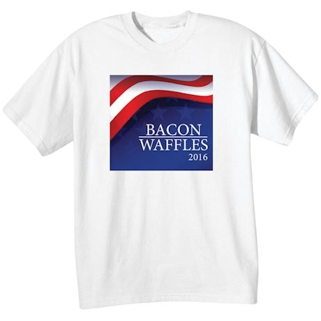 Personalized 2016 Presidential Election Campaign Poster T-shirt