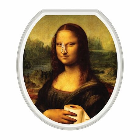 Mona Lisa Toilet Tattoo