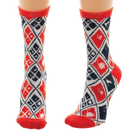 Harley Quinn Crew Socks