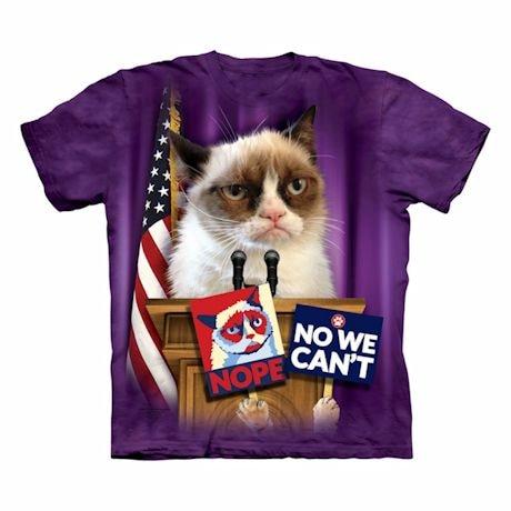 Grumpy Cat T-Shirt- Election