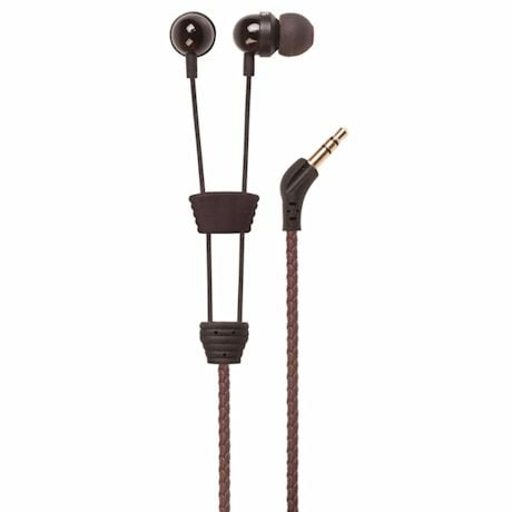 Wraps Headphones- Brown Leather