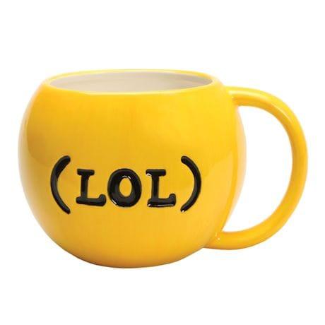 Emojicon Serveware - Winky Mug (LOL)