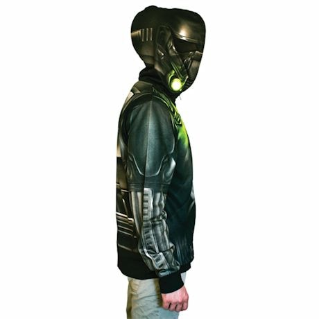 Star Wars Rogue One Death Trooper Costume Hoodie With Led Lights