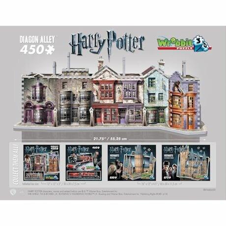 Harry Potter's Diagon Alley 3D Puzzle