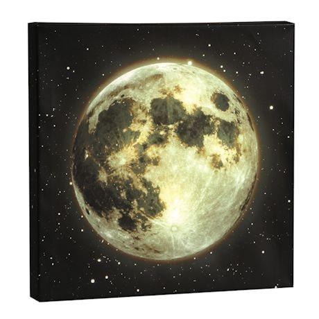Moon Led Canvas