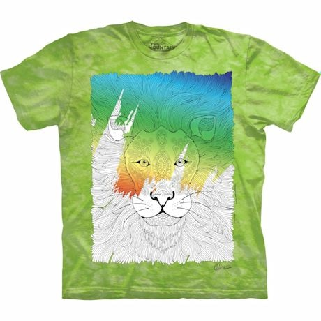 Color Yourself Tee- Lion
