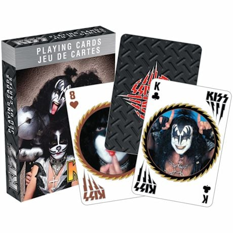 Licensed Playing Cards - Kiss