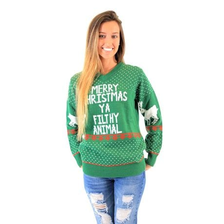 Home Alone Filthy Animal Sweater