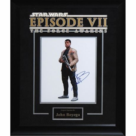 Star Wars Signed Print Finn
