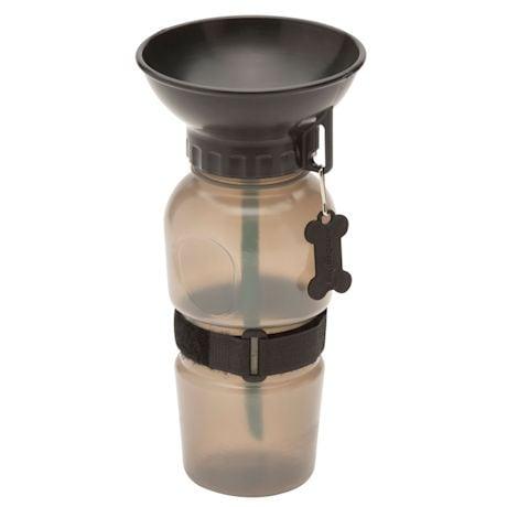 Highwave AutoDogMug - 20 oz Water Bottle for Dogs - Smoke Gray Color