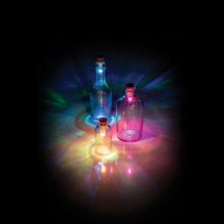 Multi-Color Led Cork Bottle Light