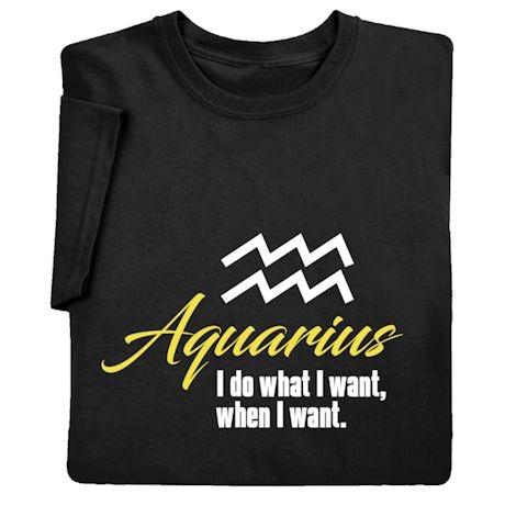 Horoscope Shirts - Aquarius