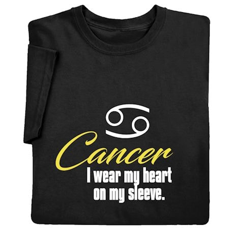 Horoscope Shirts - Cancer