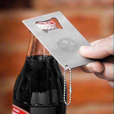 NFL Team Wallet & Bottle Opener Gift Set