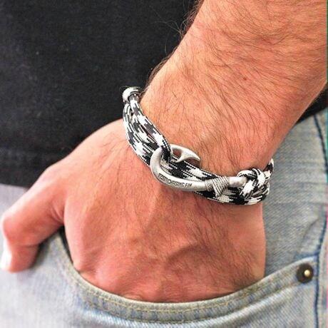 Adjustable Fish Hook Bracelet