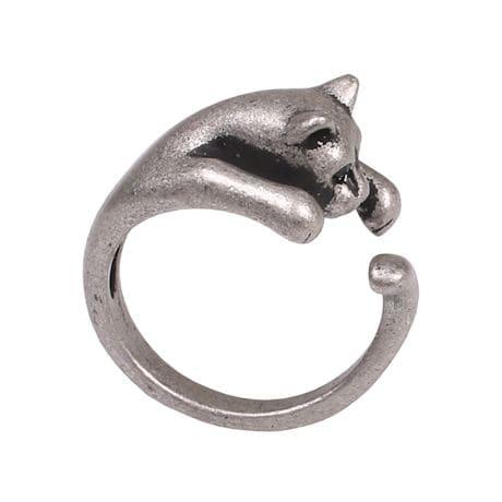 Animal Wrap Rings - Cat